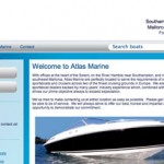 Atlas Marine new website